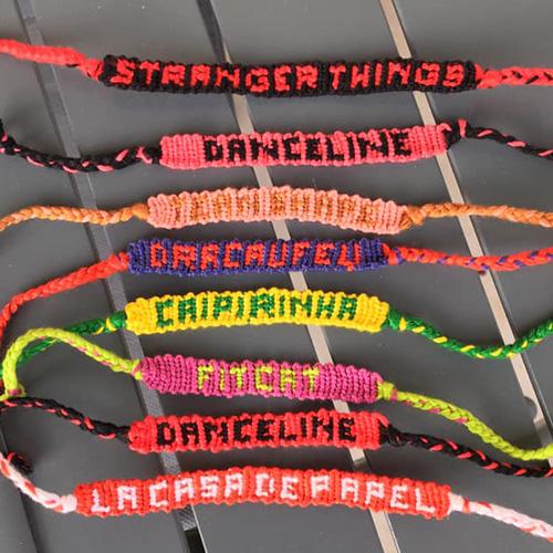 BRACELET BRÉSILIEN LETTRES Image